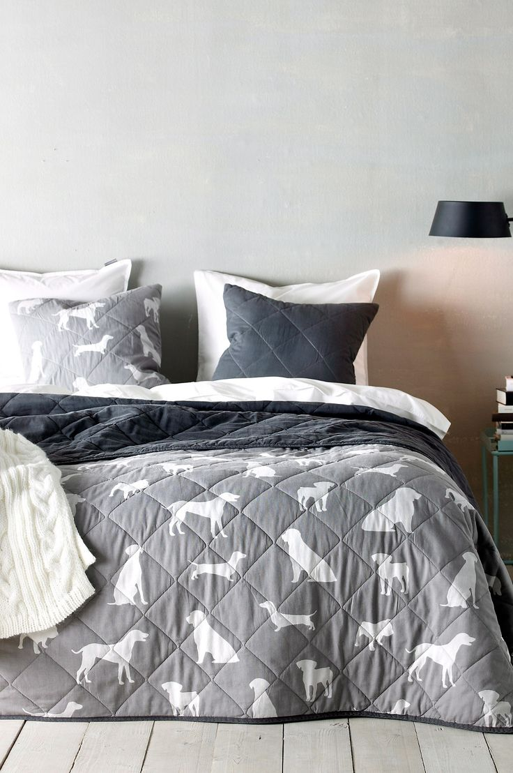 Dog Patterned Bedding from Ellos