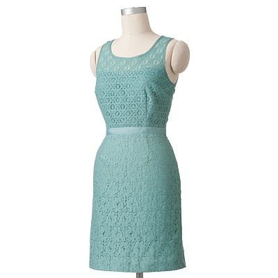 ELLE Lace Sheath Dress, Kohl's
