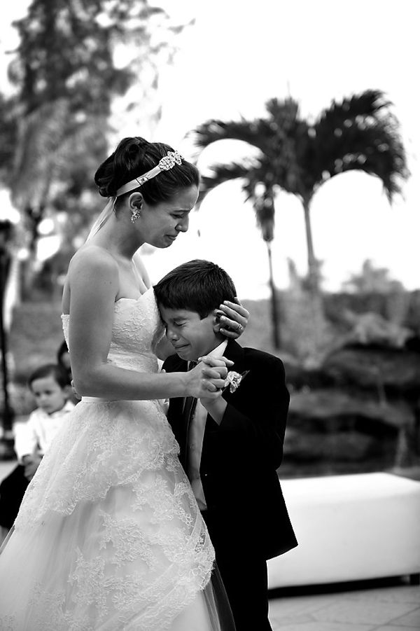 AWWWW - little brother dancing with the bride