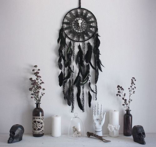 goth hippie stuff for the #home #decor