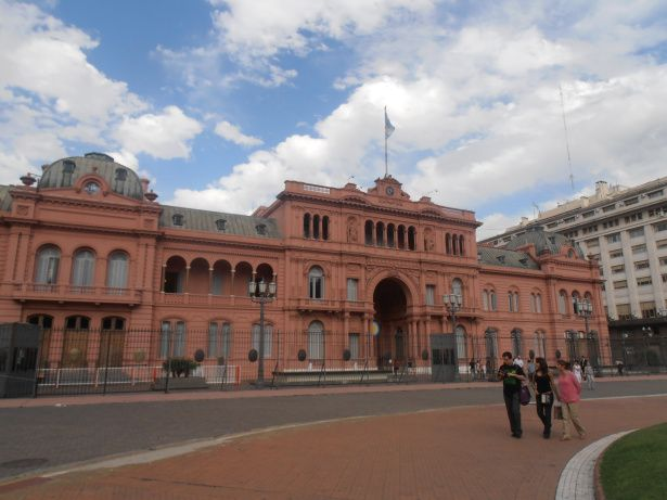 Government`s House – Casa Rosada – Casa Rosada The Government's House, also known as the Pink House due to the colour of the facades, is probably Buenos Aires' most emblematic building. Home of the presidents, this building has witnessed memorable events, culminating with the bombing in 1955 when the army raised against Peron.