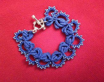 Armband Frivolite Spitze/ Браслет кружево фриволите/ Tatting bracelet