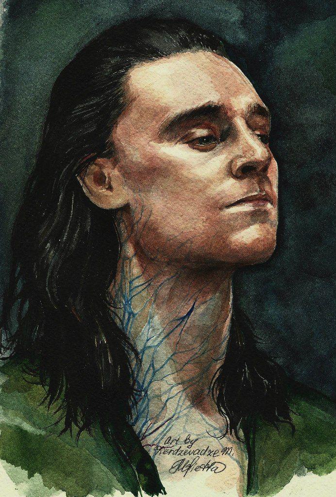 Loki Tom Hiddleston by KerdzevadzeART on DeviantArt | woooow I want him