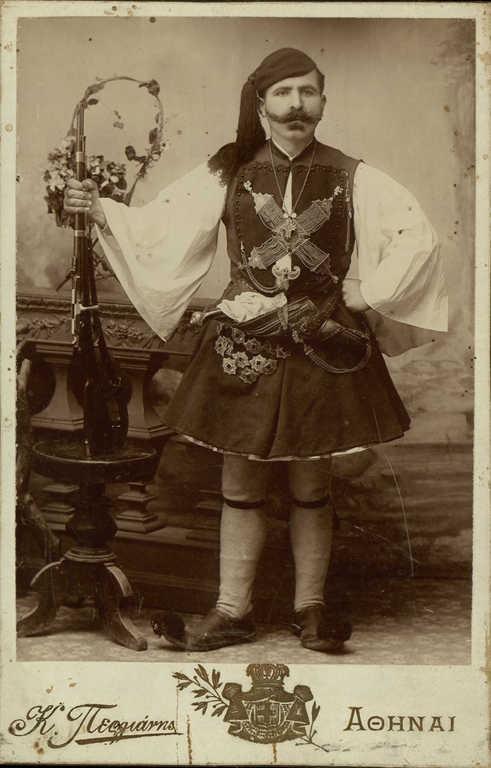 www.villsethnoatlas.wordpress.com (Grecy, Greeks) Πορτρέτο Θωμά Κοροβέση;1904.