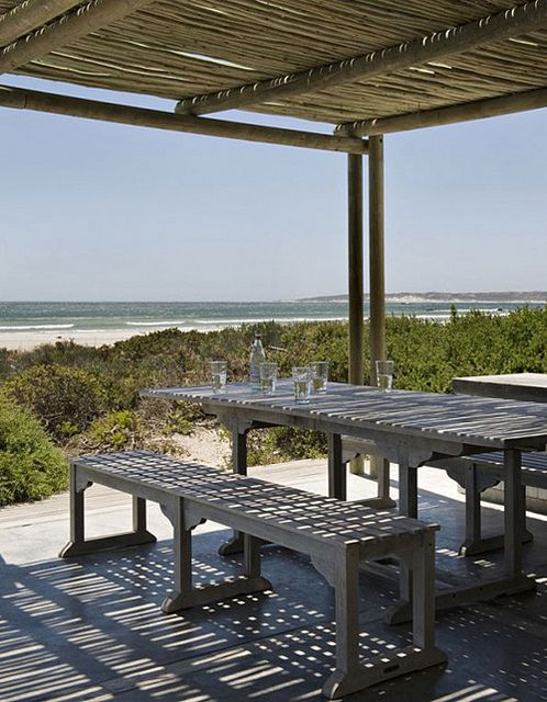 a beach house in south africa by the style files