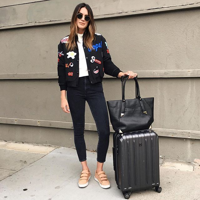 17 Best ideas about Airport Attire on Pinterest | Travel attire Travelling outfits and Airport ...