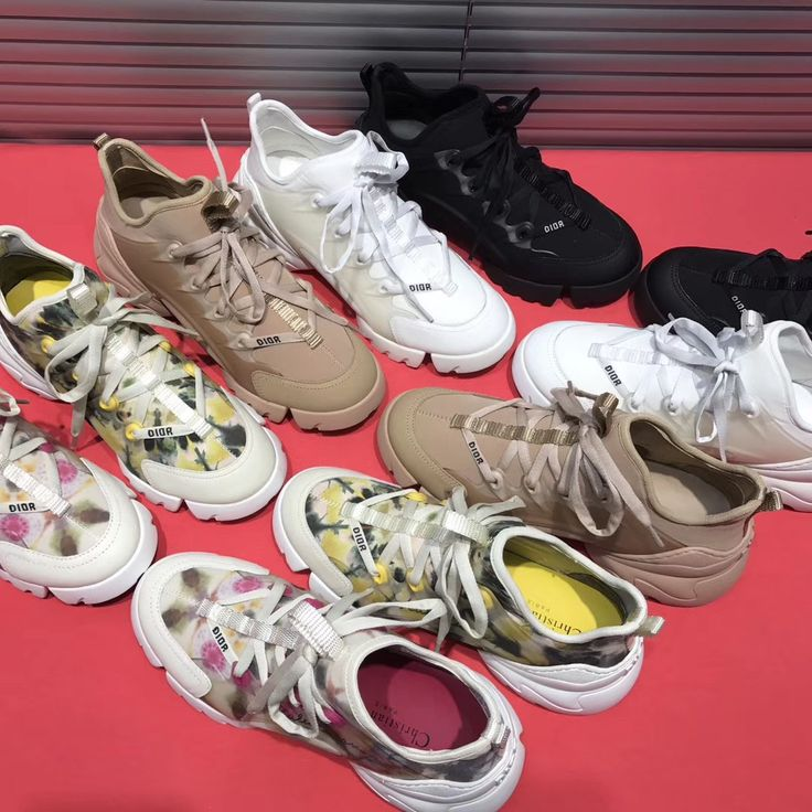 Christian Dior D Connect woman sneakers running sport style