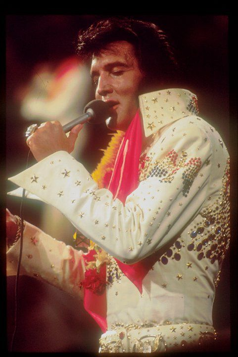 Watching Elvis movies today on tcm, I was @ his last concert in indpls & he was wonderful.