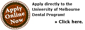 Learn how to apply to the University of Melbourne Dental School Doctor of Dental Surgery - DDS