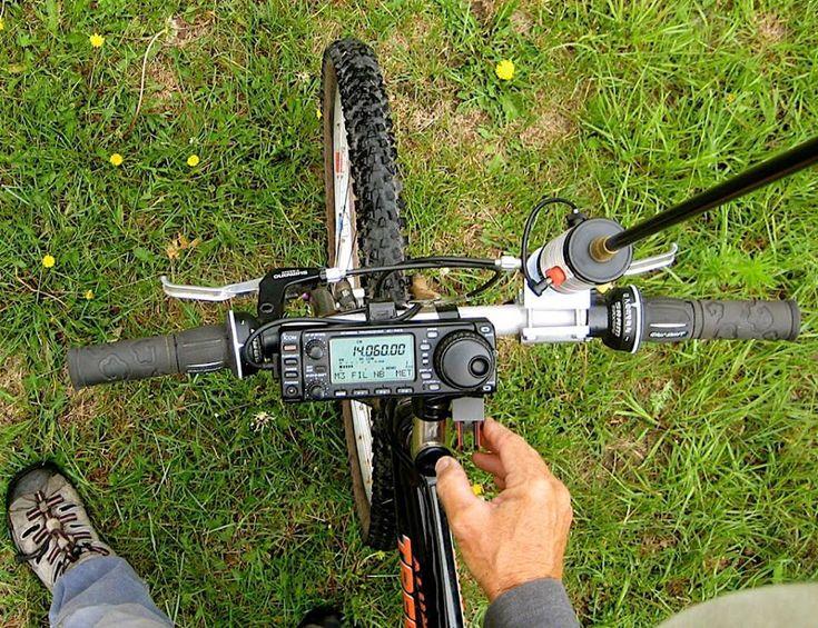 QRZ - Ham Radio - Bug Out Bikes Communications On The Go. Ham Radio.