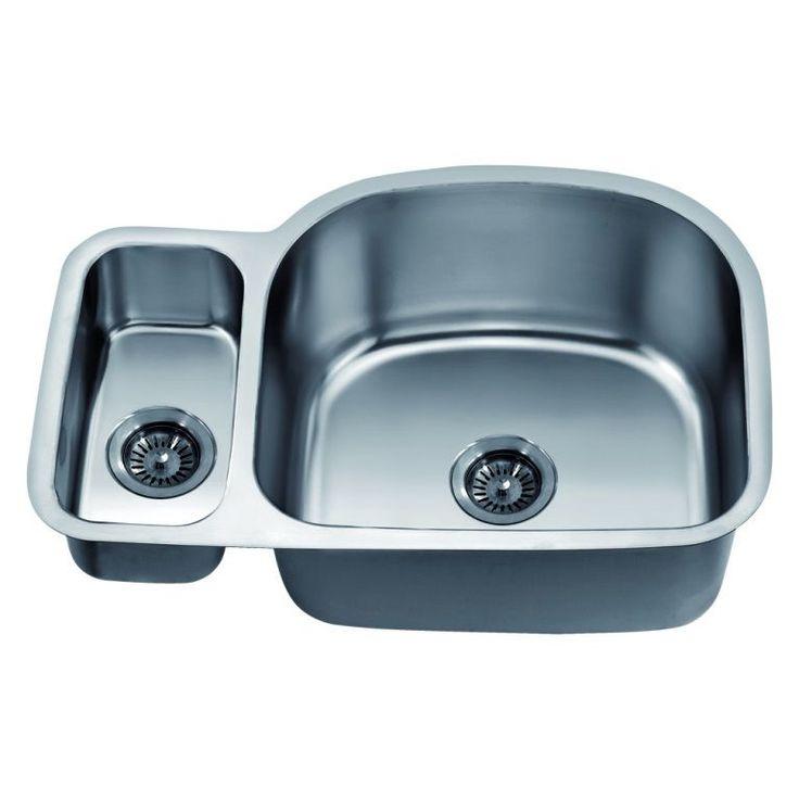 Dawn Undermount Double Bowl Sink