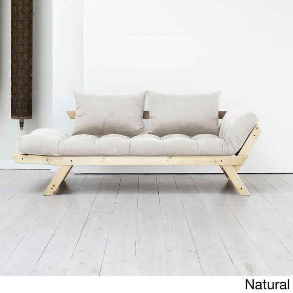 480 fresh futon bebop natural frame with 9 mattress colors dimensions 225 inches high