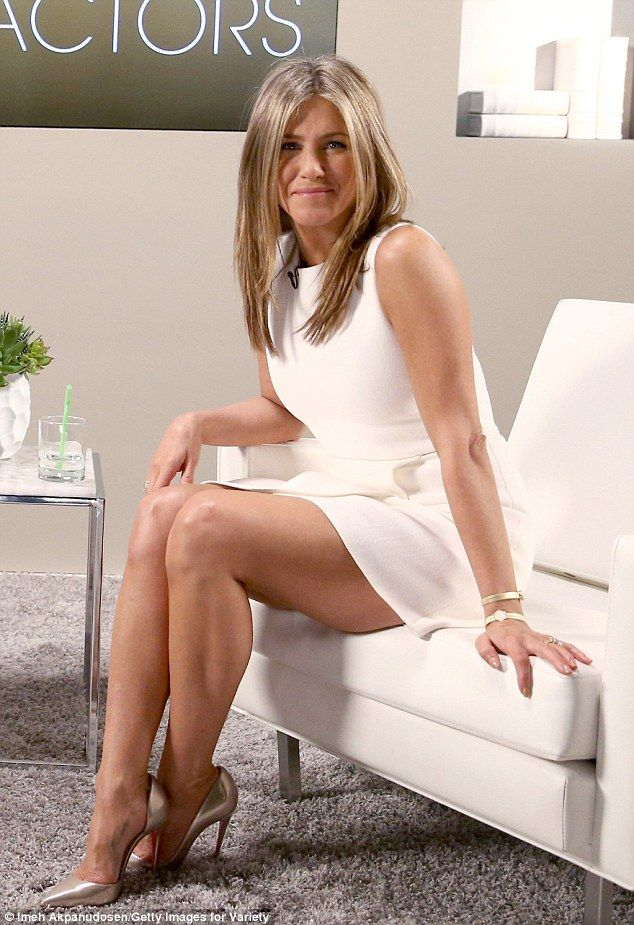 Entering awards season race: Jennifer Aniston made sure to put her engagement ring and her...