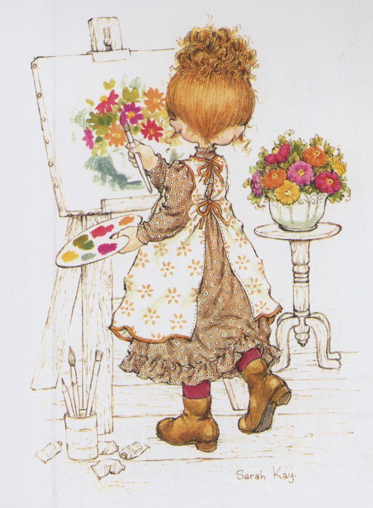 Sarah Kay - le peintre