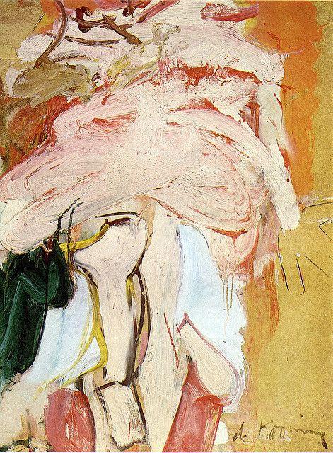 Willem de Kooning - Pink Standing Figure 1967
