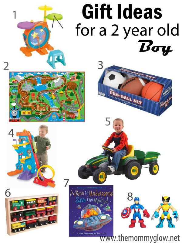 The Mommy Glow | Gift Ideas for a 2 year old boy | http ...