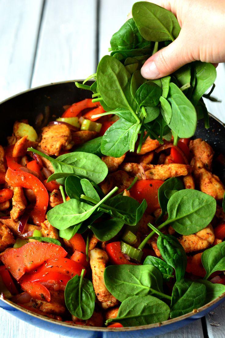 kurczak z warzywami, kurczak przepisy, przepisy na kurczaka, obiad, obiad przepis, szybki obiad, szybki obiad przepis, szybki kurczak, jak zrobić kurczaka