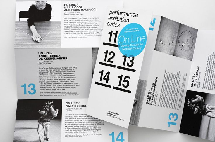 Performance: On Line - The Department of Advertising and Graphic Design