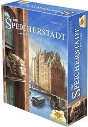Die Speicherstadt : Jeu rapide et assez intéressant...