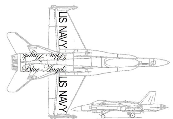 blue angels coloring sheet i found the jet and added the words