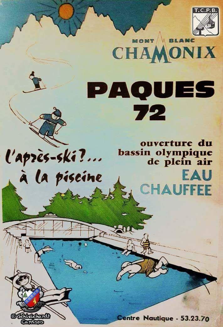 La piscine extérieure de Chamonix a été chauffée jusqu'au choc pétrolier