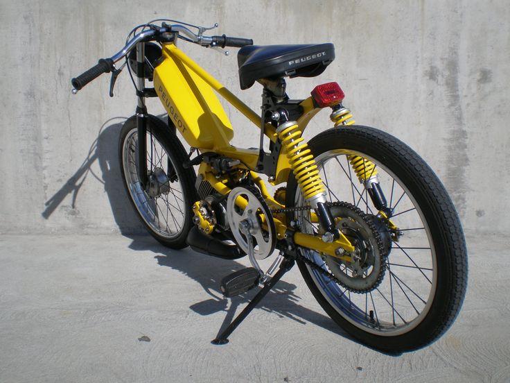 Peugeot 103 jaune par Tomahawk