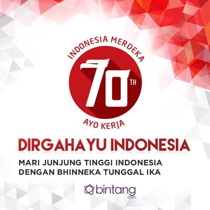 HUT Indonesia 70th Bintang.com Indonesia