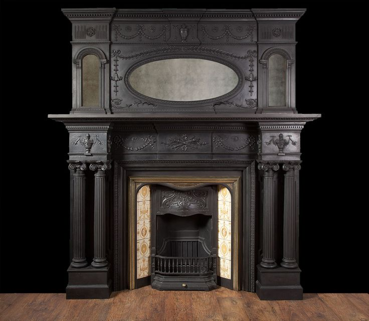 Reproduction Georgian Fireplaces Part - 45: Cast Iron Fireplace - From Ryan U0026 Smith LTD Specialists In Antique  Fireplaces, Reproduction Fireplaces, Bespoke Fireplaces And Period  Fireplaces