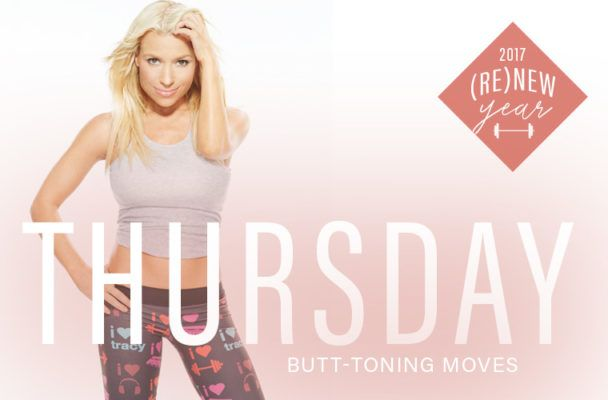 Try the butt-sculpting workout that made Tracy Anderson famous