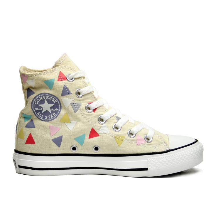 Converse Chuck Taylor All Stars HI Confetti Plimsolls. January sales! Sweeeet!