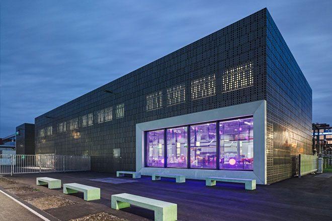 ewz Unterwerk und Netzstützpunkt Oerlikon - illiz architektur