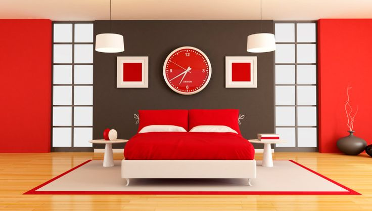 Best 25 red accents ideas on pinterest red decor accents red living room decor and living - Camera da letto rossa e bianca ...
