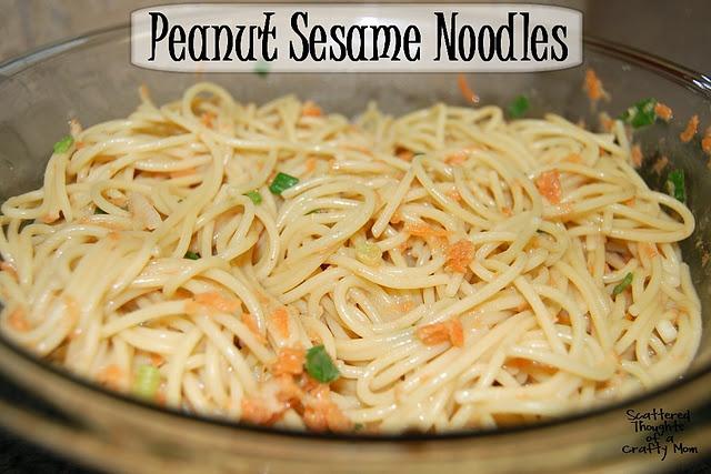 Peanut Sesame Noodles (weight watchers+ 8 points)