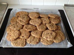 Amerikanske Småkager - cookies som også kan spises til jul.