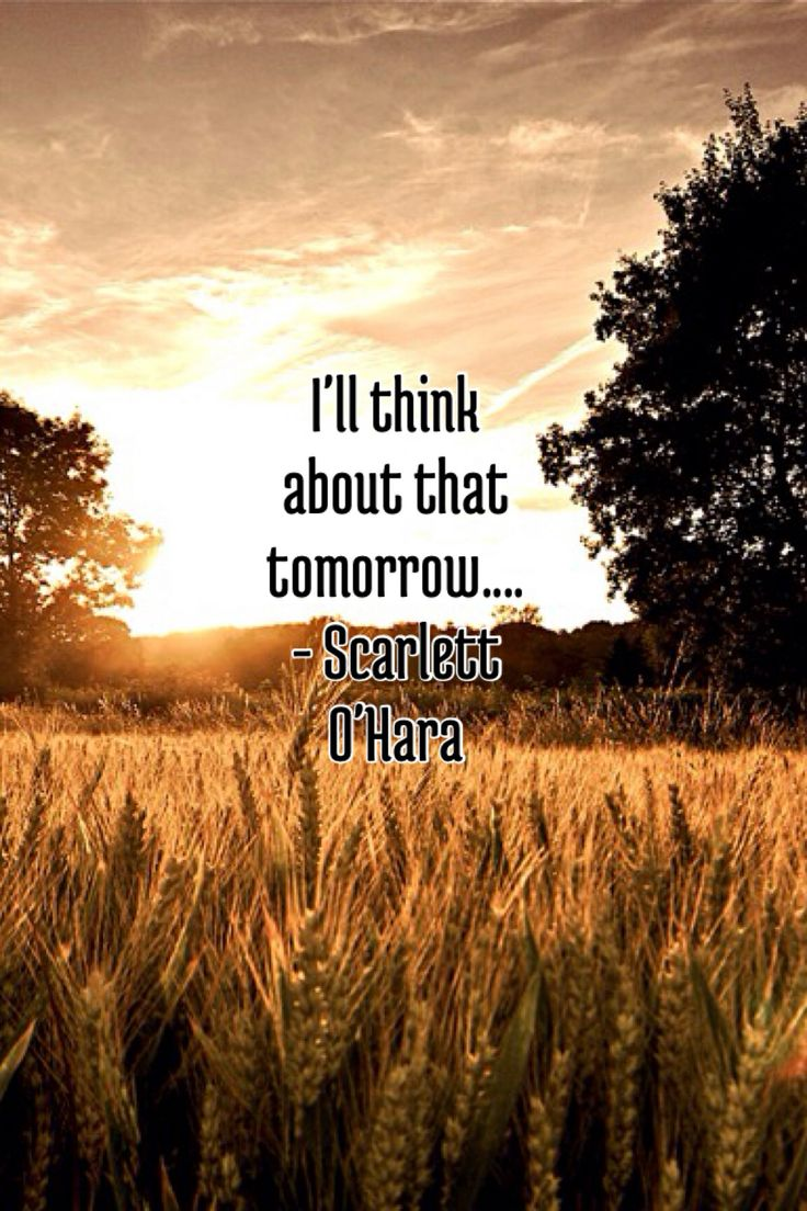 Tomorrow With A Smile Knock Off: About Scarlett Ohara Quotes Tomorrow. QuotesGram