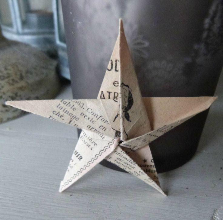 Etoile 5 brches Origami (6)