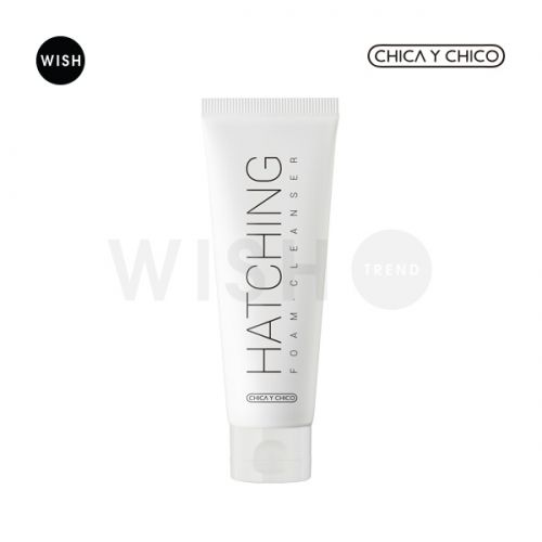 Hatching Foam Cleanser helps to remove dead cells and blackheads.