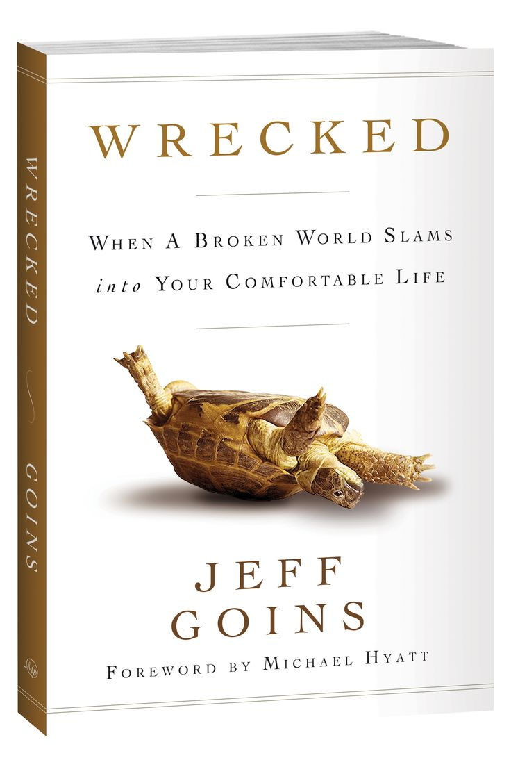 Wrecked: When A Broken World Slams Into Yourfortable Life: Jeff Goins,  Michael Hyatt