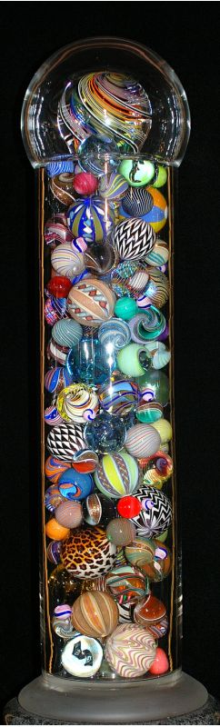 Population Portrait IX ~ Mark Matthews Glass ~ LOVE THIS......I would love to have them all!                                                                                                                                                      More