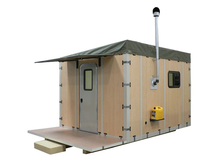 Modular Shelter Systems : Modular shelter that can be assembled by people in under