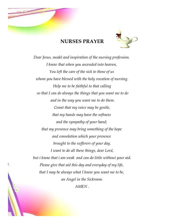 Nurses Prayer Funny  The NURSES PRAYER Document Sample
