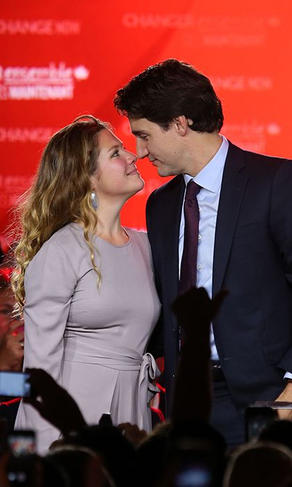 .Justin Trudeau and Sophie Grégoire: The love story of Canada's new first couple - HELLO! Canada°°