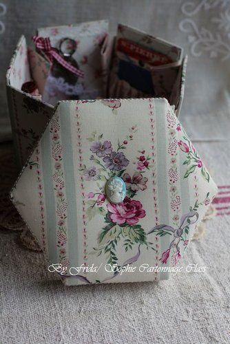 Hexagonale boîte de tissu à coudre victorienne @ (Old) Bonjour! Ca va? La vie est belle? :: Arbitrairement nid journal Xuite