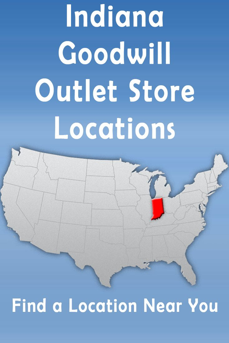 34 best Goodwill Outlet Thrift Store Locations by State images on ...