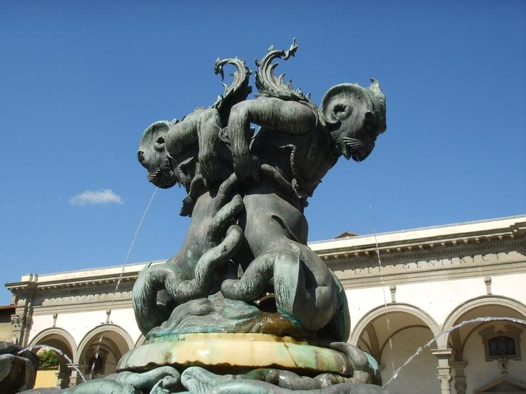 Fontana dei mostri marini