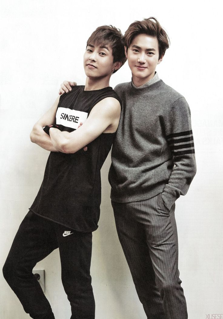 Daddy and Daddy ;) #Xiumin #Suho