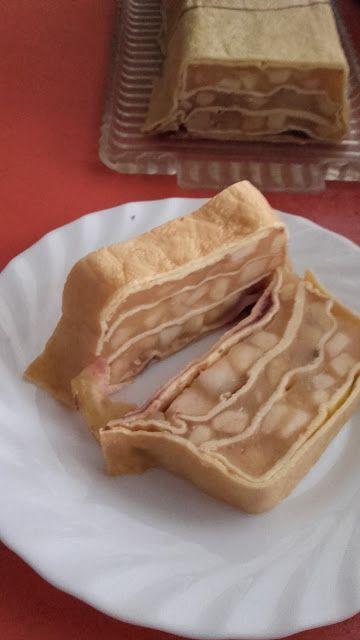 Almás palacsintatorta