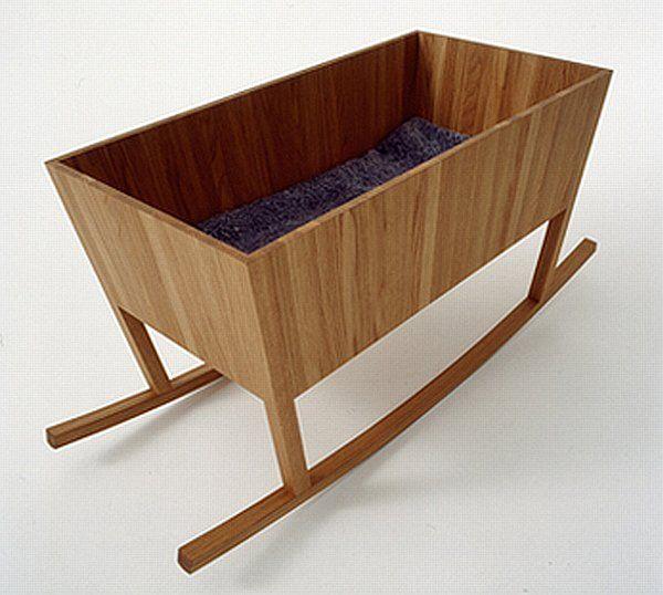 Jonas Lindvall's rocking bassinet from 2003