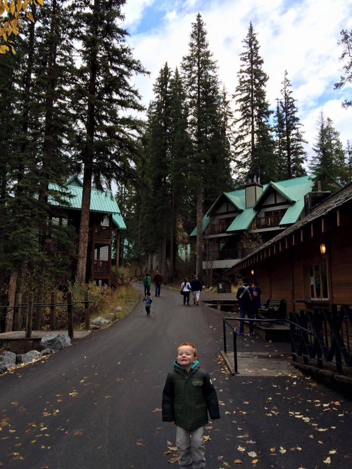My little darling loved Emerald Lake just as much as us!