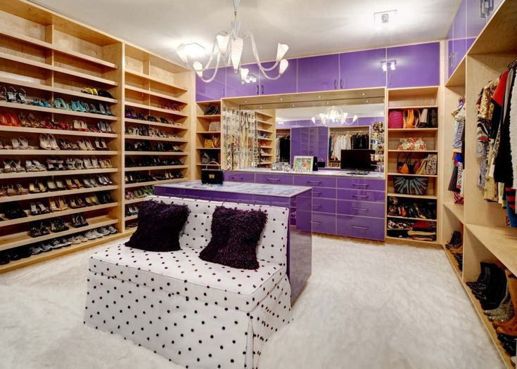 Justice Kohlsdorf Residence Master Closet   Modern   Closet   Atlanta    Cablik Enterprises Would Love To Be Able To Fill A Closet Like This!